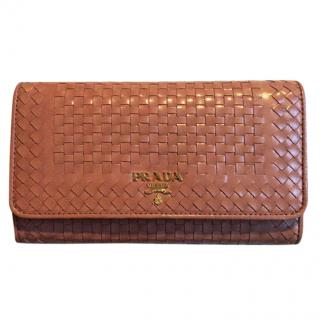 Prada wallet with (detachable) strap