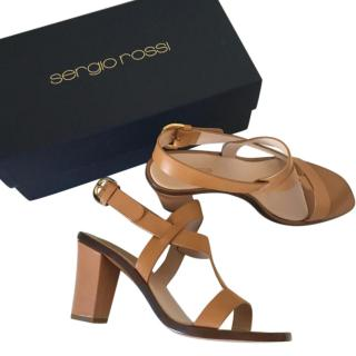 Sergio Rossi Tan Sandals