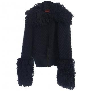 Missoni black cardigan/ jumper