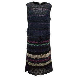 Missoni Knitted Mid-Length Dress