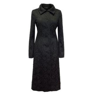 Dolce & Gabbana Lace Long Coat