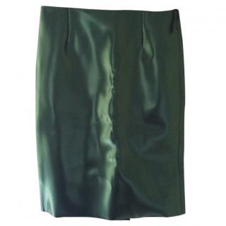 Tibi PVC pencil skirt