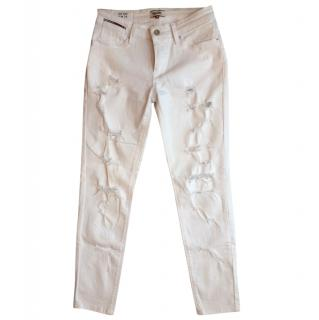 Tommy Hilfiger Mid-Rise Ripped Jeans