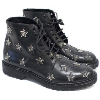 Saint Laurent star boots