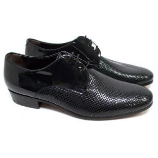 Lanvin Black Patent Dress Shoes