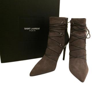 YSL paris ankle boots
