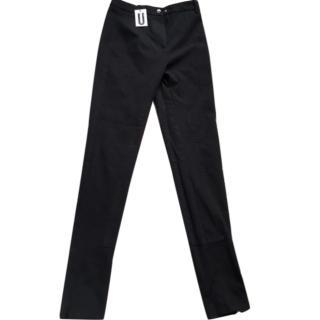 Topshop Unique smart black trousers with zips