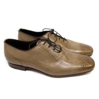 Bottega Veneta Brown Leather Brogues