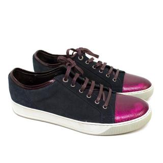 Lanvin Men's Navy Trainers