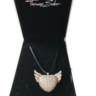 Thomas Sabo Pave Necklace