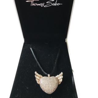 Thomas Sabo Pave Necklace