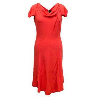 Roland Mouret Coral Mid-Length Dress