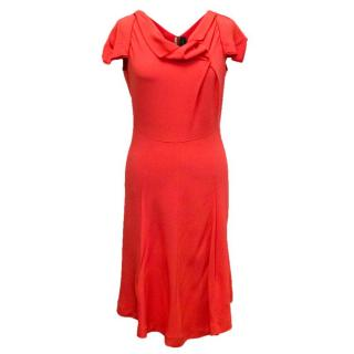 Roland Mouret Coral Mid-Length Dress