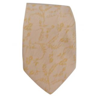 Kenzo yellow tie