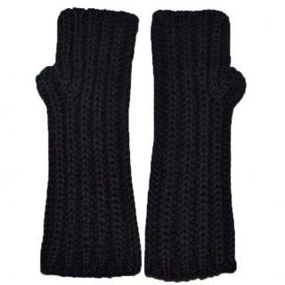 Dolce & Gabbana cashmere fingerless gloves