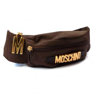 Moschino by Redwall Vintage Brown Bum Bag.