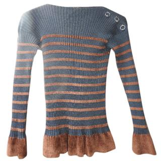 Jean Paul Gaultier Striped Sweater (Maille Femme)