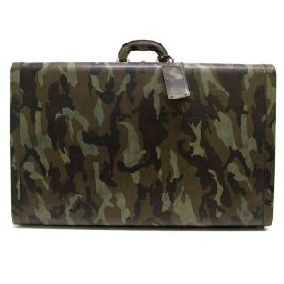 Prada Saffiano Camouflage Luggage