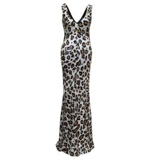 Ashish Leopard Sequin Gown