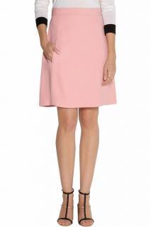 Chloe Crepe Tailored A-Line Skirt