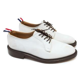 Thom Browne Off White Dress Shoes
