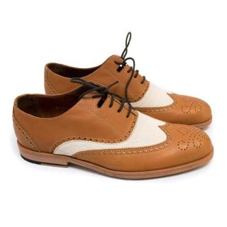 Rachel CoMey Tan & White Dress Shoes