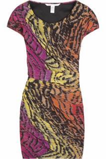 Diane von Furstenberg Erosa Printed Silk Dress