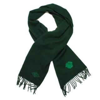 Versace Bottle Green Scarf