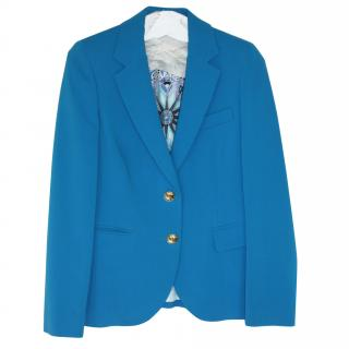 Pucci wool/silk turquoise jacket