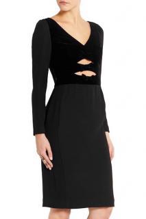 NEW ALTUZARRA Black Cutout Dress