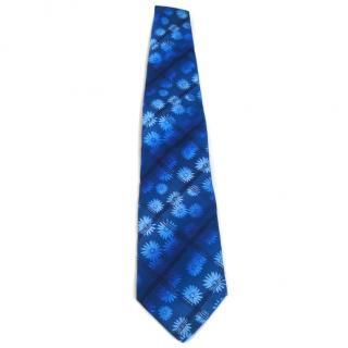 Kenzo blue tie