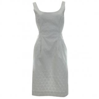 Jonathan Saunders 'Suvi' Bonded Cotton Teardrop Dress