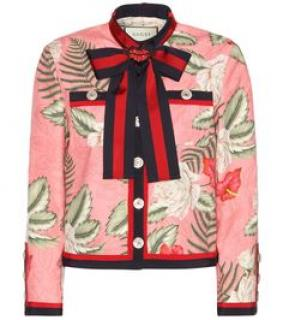 Gucci SS 2016 floral jacket
