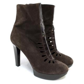 Robert Clergeire Brown Ankle Boot
