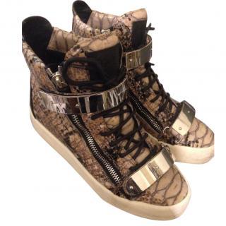 Giuseppe Snake Sneakers