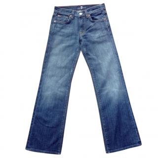 7 for all mankind girls jeans (age 7)