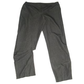 MARINA RINALDI grey trousers, size 29