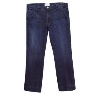 Frame Denrock Straight Leg Dark Blue Jeans