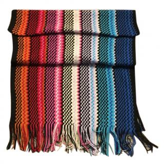Missoni large wool blend scarf
