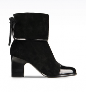 Armani Suede Ankle Boot (RPP �1295)