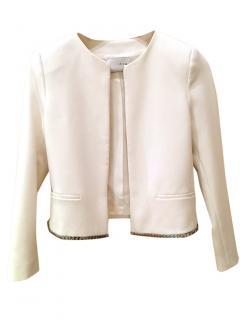 Sandro white jacket