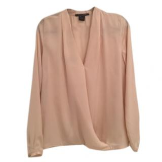 Silky Pale Peach Maison Scotch Blouse