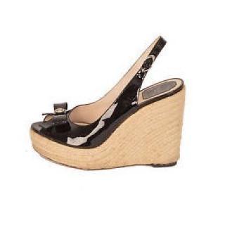 Christian Dior Wedge Platform Sandals