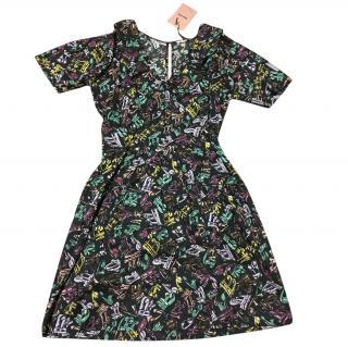 Miu Miu Music Note Print Dress