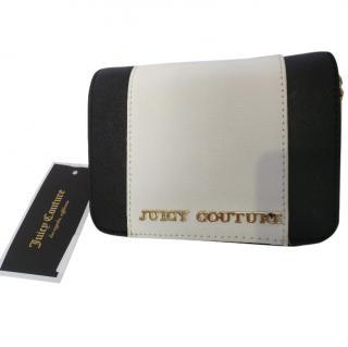 Juicy couture leather colorblock mini bag whiteblack