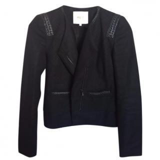 Maje black short jacket