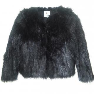 Halston Heritage Faux Fur Jacket