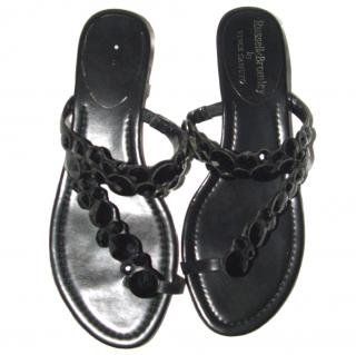 Russell & Bromley flat jewellery sandal