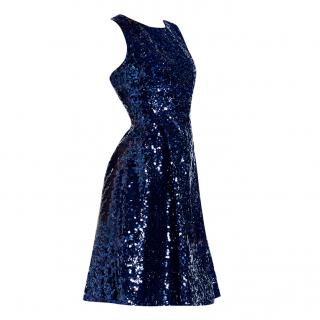 Kate Spade Navy Sequin Dress