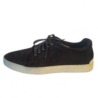RAG & BONE dark grey suede sneakers